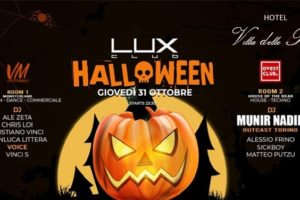 Halloween 2019 Serata Lux Club