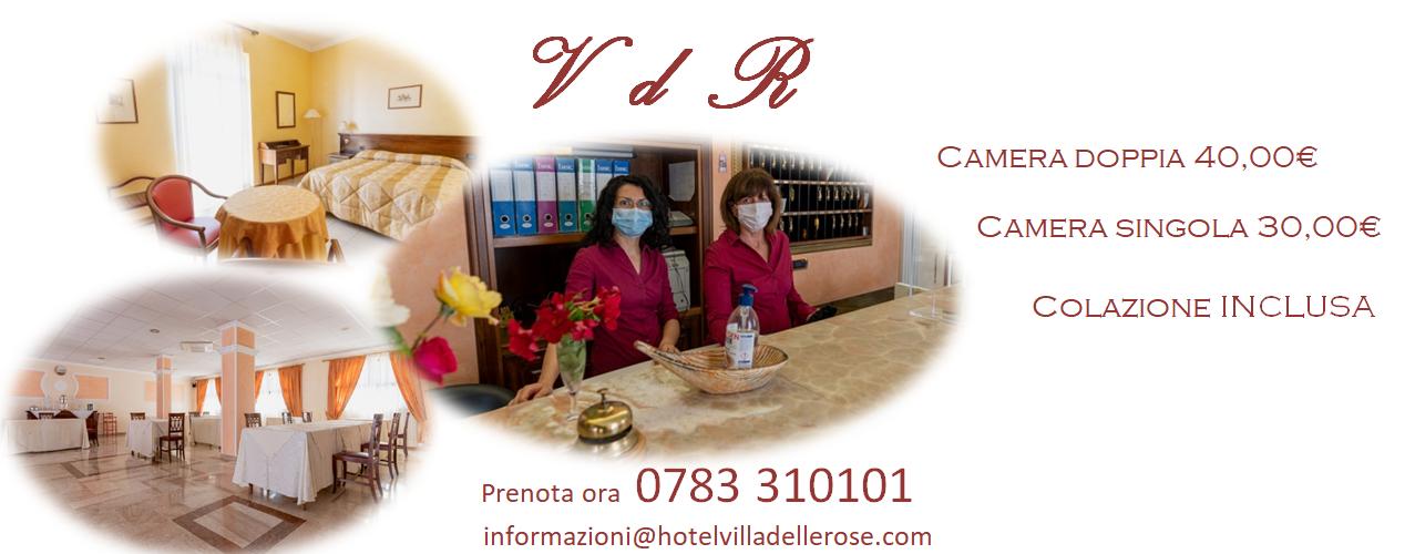 Hotel Oristano Sardegna   Villa delle Rose   Offerta Soggiorno