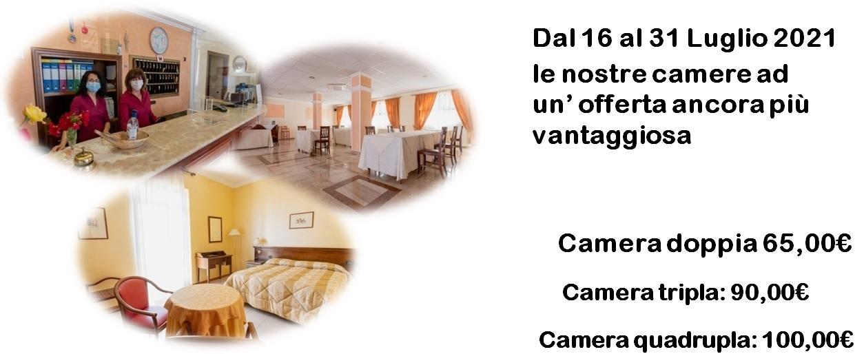 Hotel Oristano | Villa delle Rose | Offerta soggiorno dal 16 al 31 Luglio 2021