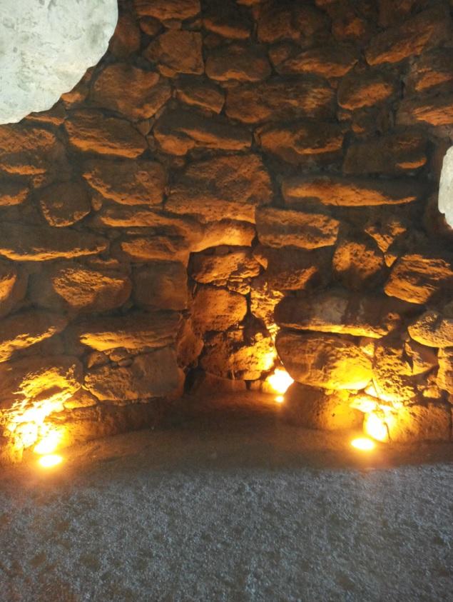Nuraghe Losa - ambiente interno